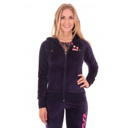 Nickelson Carly joggingjack in donkerblauw