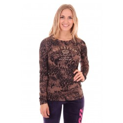 Goldbergh lonsleeve in leopard