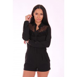 Supertrash Westiny playsuit met kant