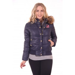 Nickelson Amoen winterjas in navy