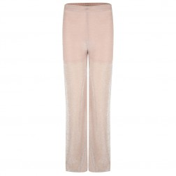 Jacky Luxury broek in lurex - Nude