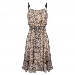 Jacky Luxury leopard dress - lace