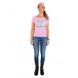 Royal Temptation Be Love t-shirt in roze