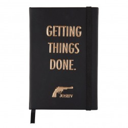 Josh V notebook in black