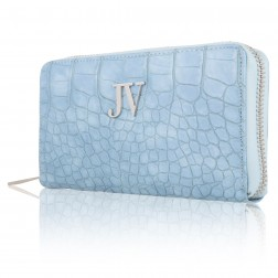 Josh V Waylon wallet in Sea blue