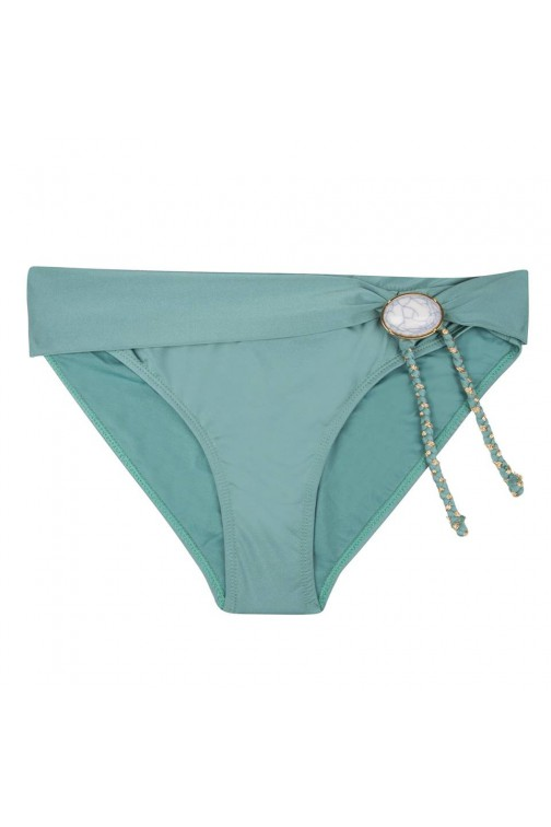 BohoBikini Fabulous bottom in green