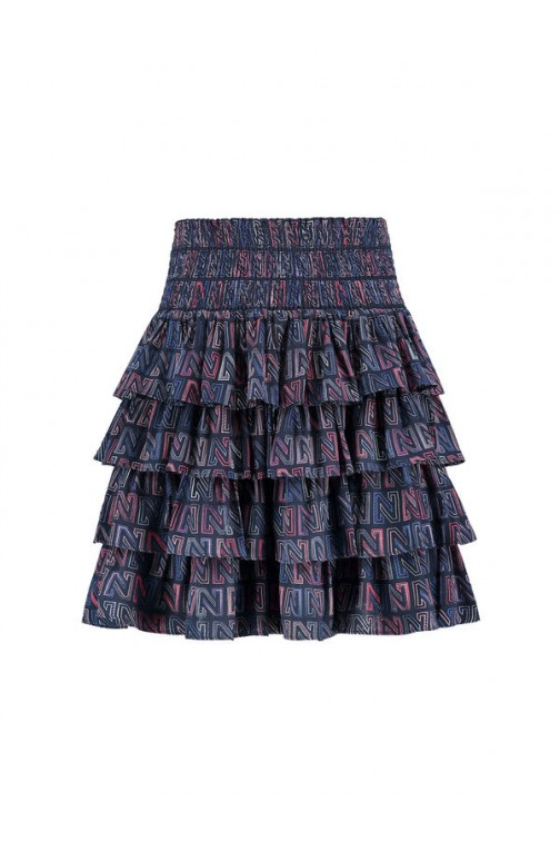 Nikkie Logomania skirt - ruches