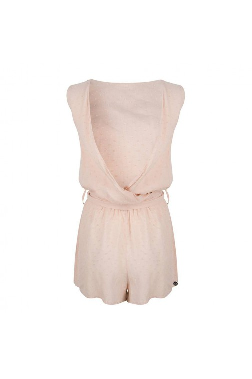 Jacky Luxury playsuit met overslag - rose