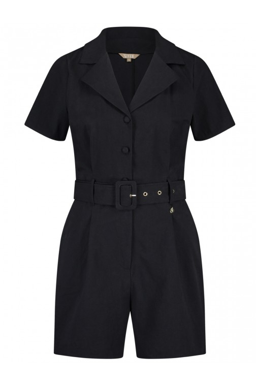 Its Given Loraine Playsuit in zwart