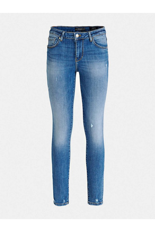 Guess jeans - used look in blue