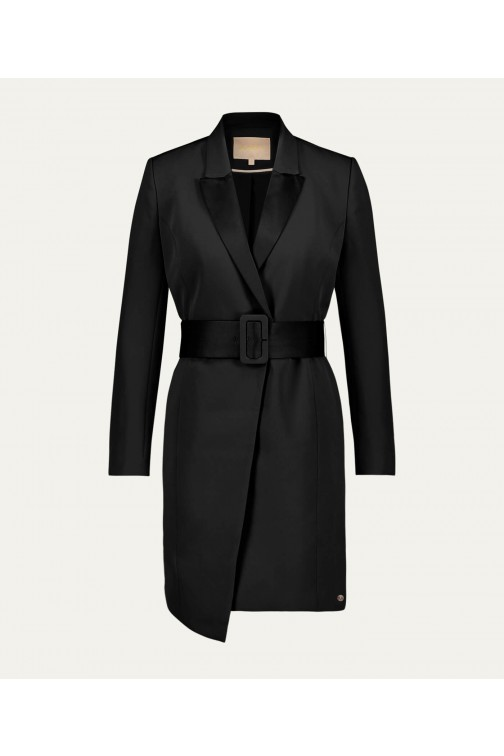 Josh V Romance blazer dress in zwart