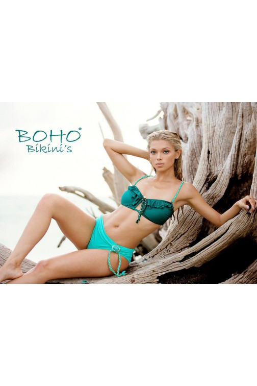 BohoBikini Fabulous bottom in mint