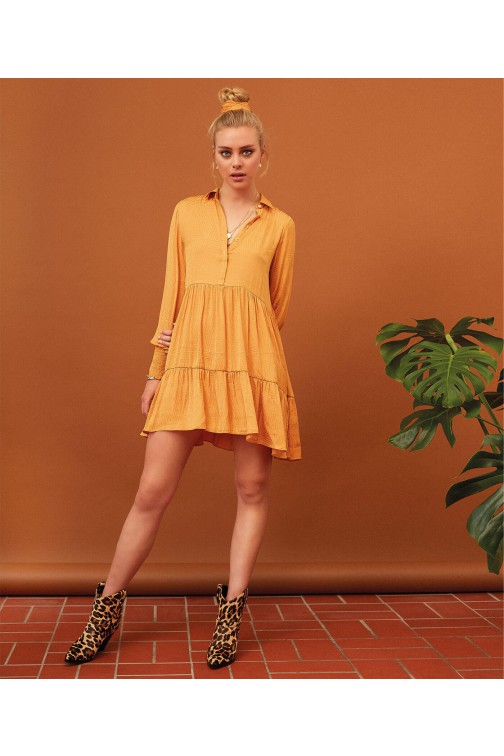 Josh V Rowa dress in sunset