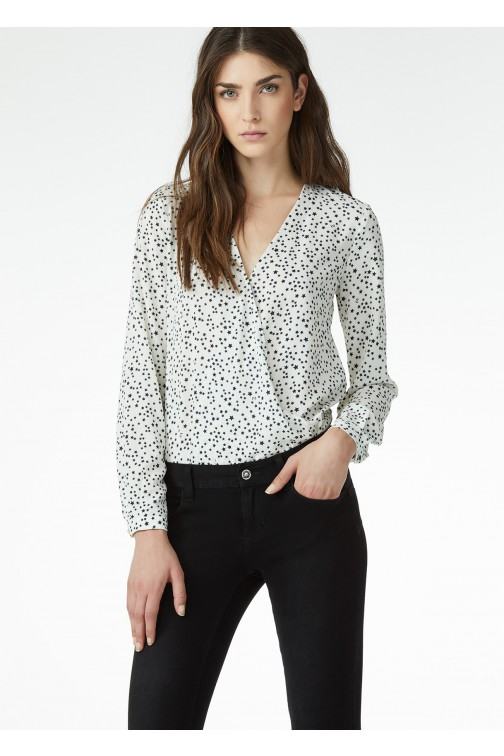 Liu Jo body blouse Poetic Drama - stars