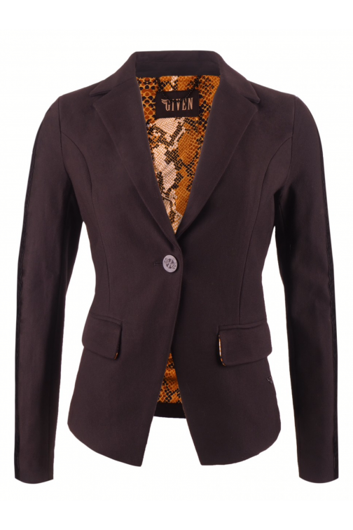 Its Given Rusty blazer in zwart