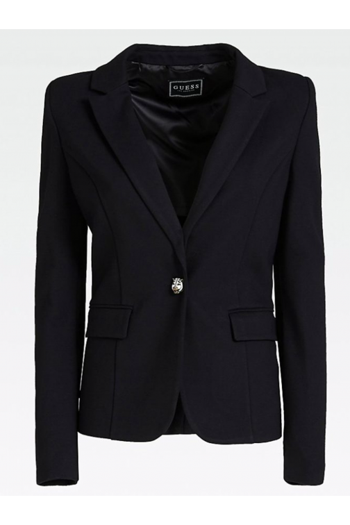 Guess Pixie blazer in zwart met stretch