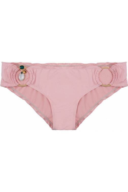 Boho bikini Exclusive Brazilian bikini bottom in sweet pink