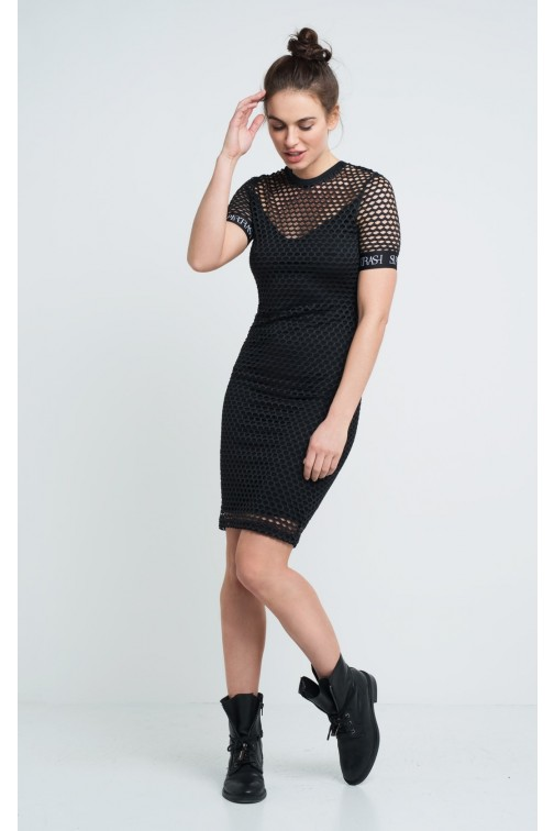 Supertrash Datches dress in gaas