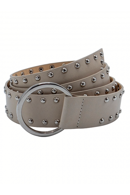 So Jamie knot it up Riem in beige silver