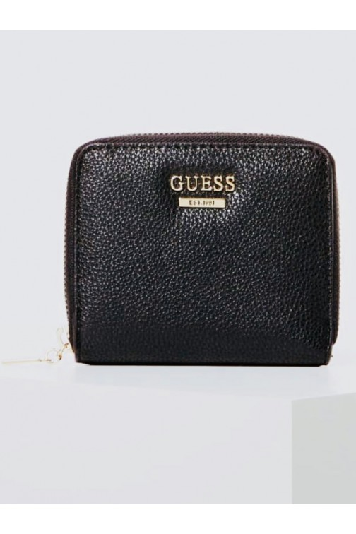 Guess Michi wallet zip around in zwart