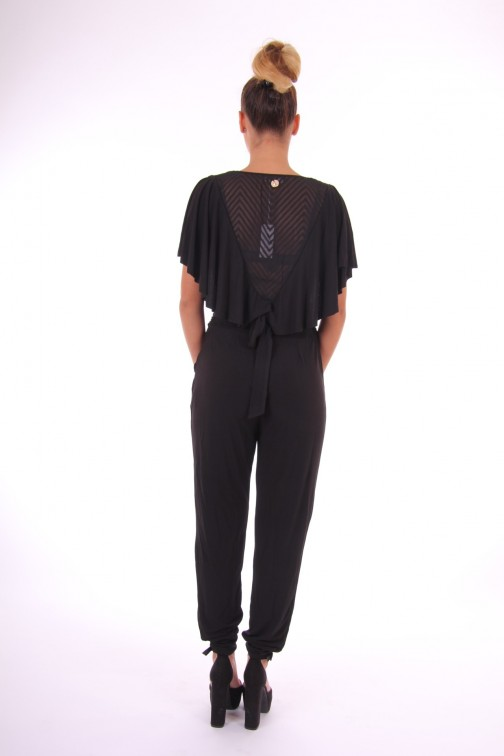 Relish Wise jumpsuit in zwart