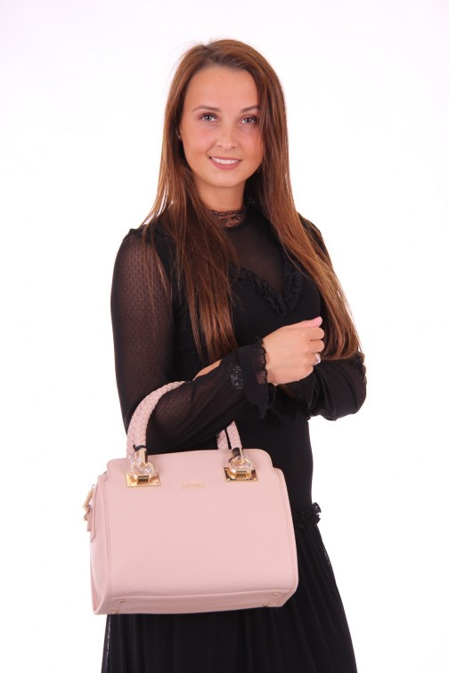 LIU JO Boston bag in poeder roze