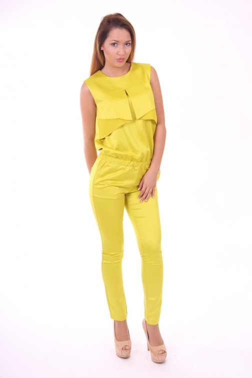 Josh V jumpsuit Athena in lime