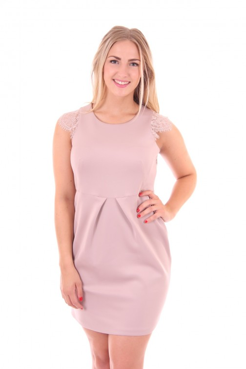 Kocca Bodea dress in soft pink