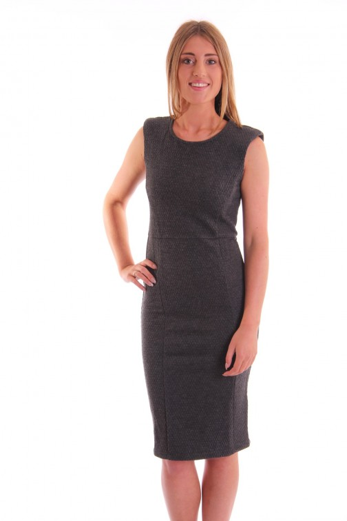Supertrash Ducture dress in antracite