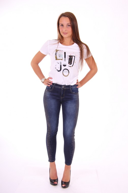 Liu Jo Shoney t-shirt Moda in wit