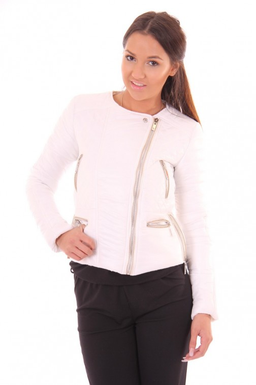 Relish Finn jacket in white