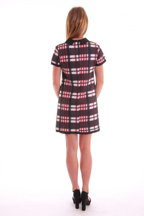 Relish Square dress in ruitpatroon