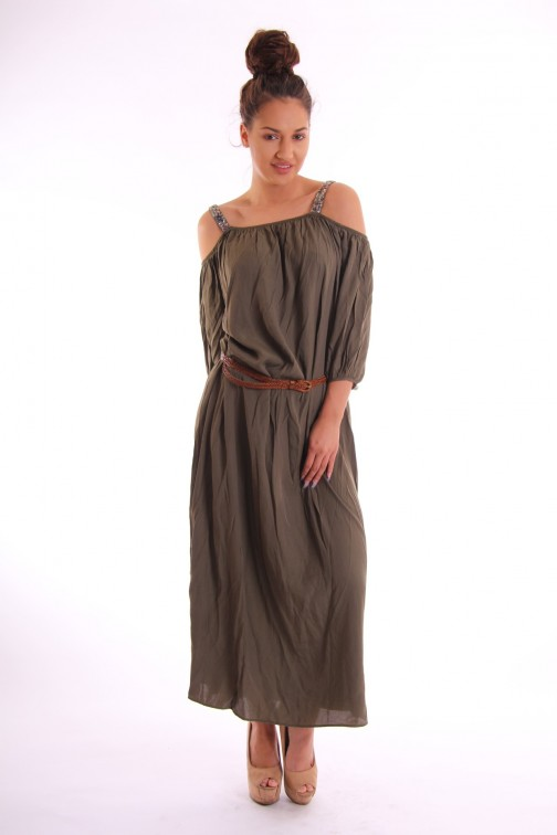 Maria Tailor Fynn Maxidress in army