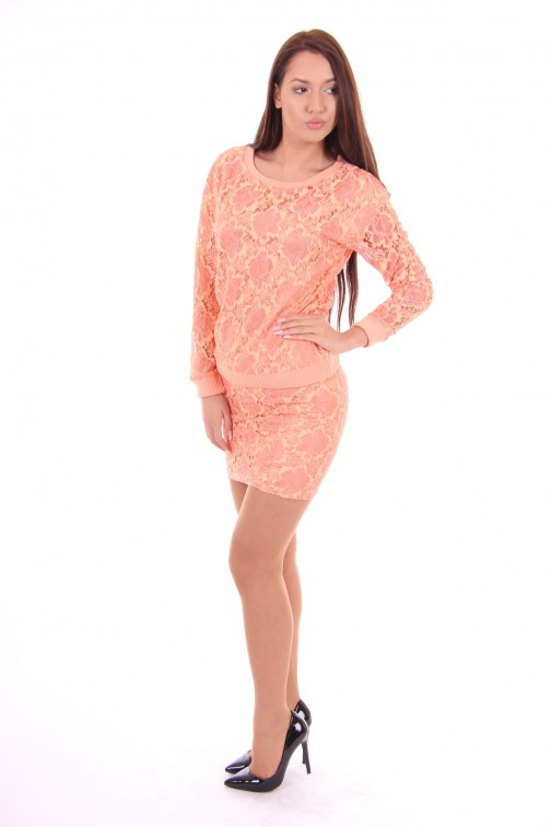 Its Given rokje Jose in coral lace