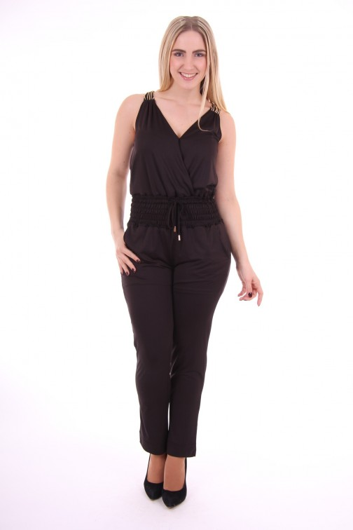 Relish Jumpsuit Elvetio in zwart