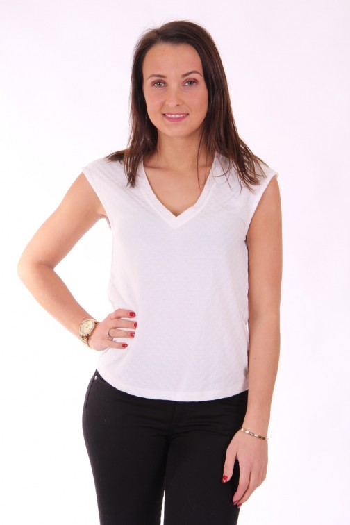 Supertrash Tarayee top - mouwloos