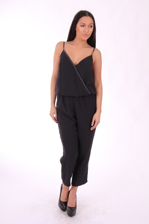 Liu Jo jumpsuit met overslag top