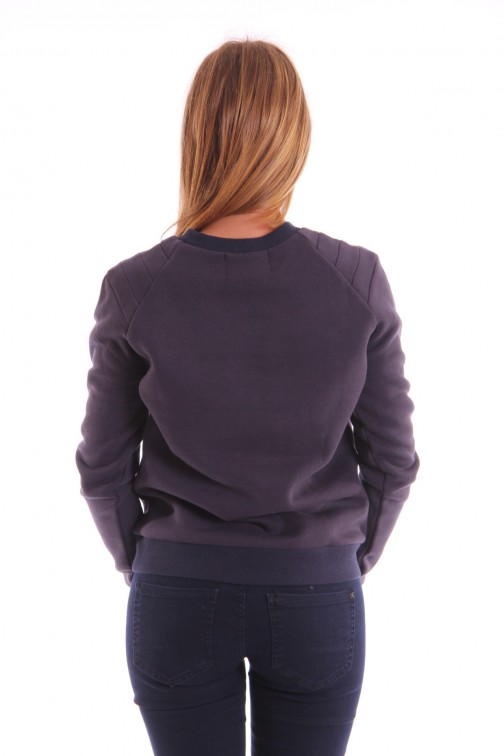 Milla Zoe sweater in navy YES SIR