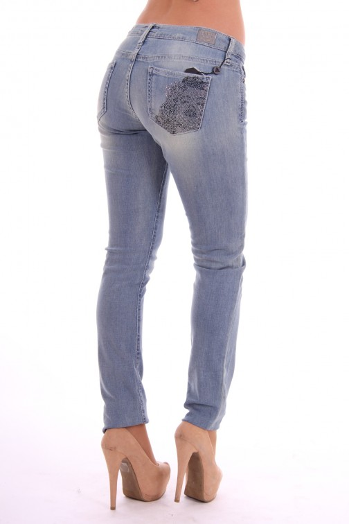 Guess jeans met strass