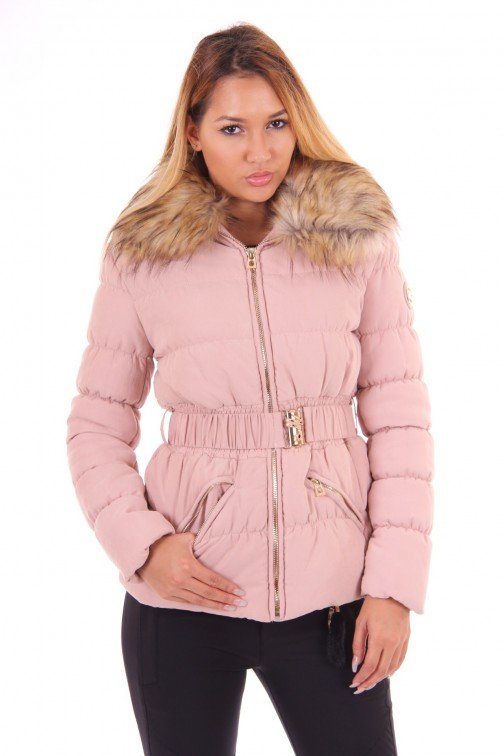Glamorous Dorothy coat in powderpink