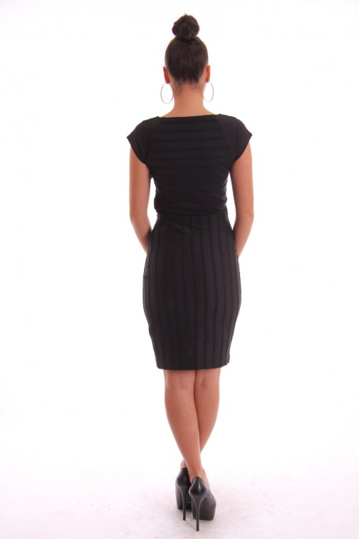 Supertrash Dout dress in zwart
