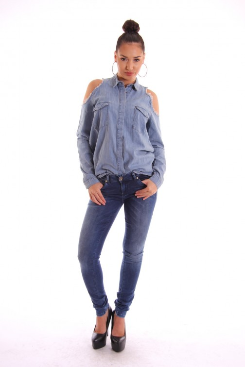 Supertrash Pacey jeans, random blue