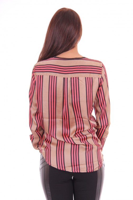 Its Given blouse, Kiko in stripes
