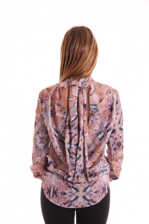 Josh V Simoon blouse in crystal print