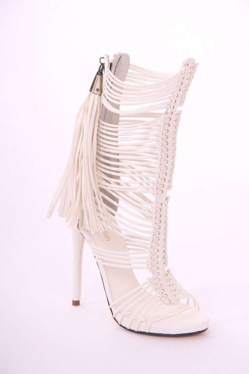 Relish Adelaida heels in gladiator style