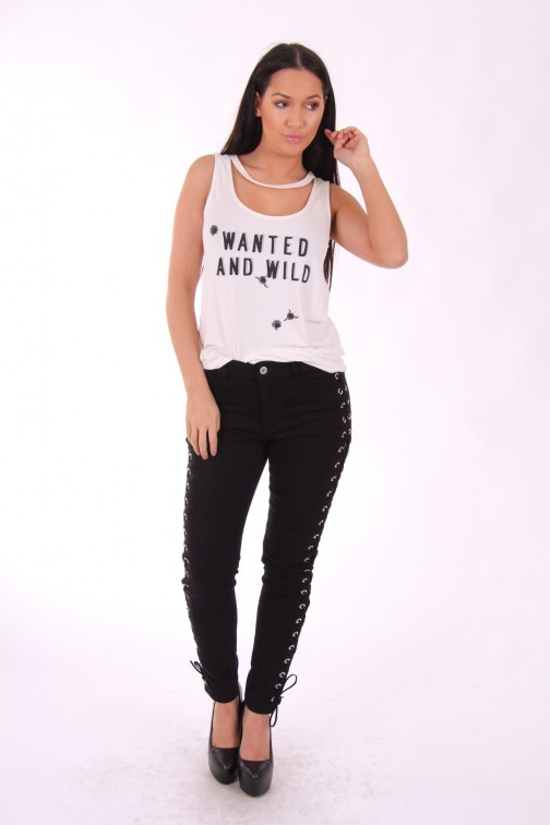 Supertrash Taniel top, Wanted and Wild