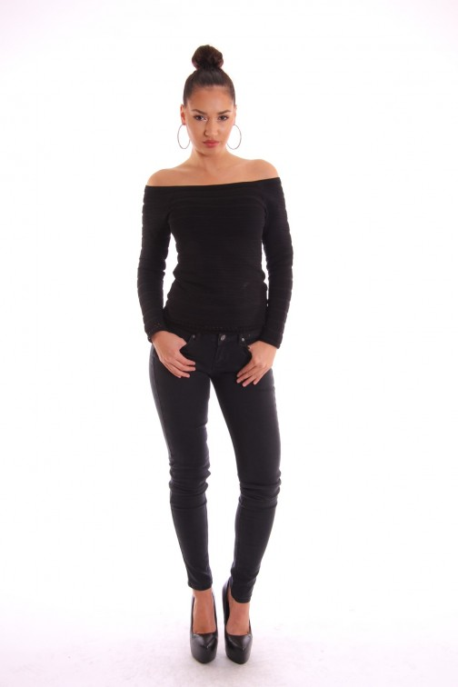 Supertrash Pacey  jeans, black used