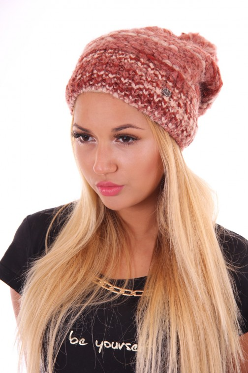 Starling beanie Estroso in steen rood