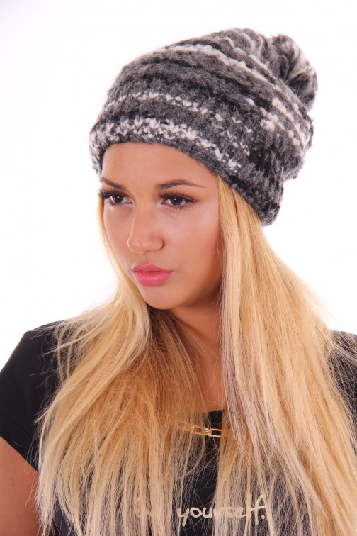 Starling beanie Estroso in dark grey