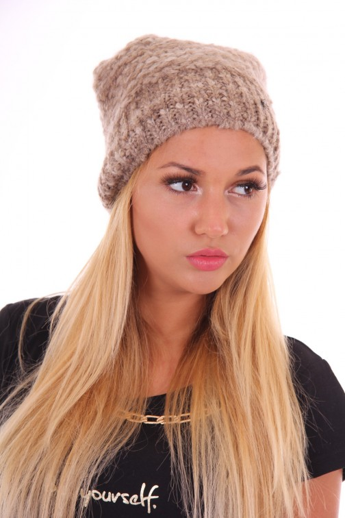 Starling beanie Estroso in taupe
